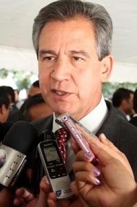 El Secretario de Gobierno en la entidad, Héctor López Santillana.