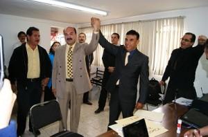 Jesús Paz Gómez se inscribió como precandidato a la gubernatura del Estado por el Partido de la Revolución Democrática PRD
