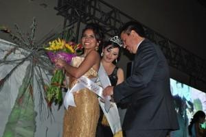 Como primera princesa Erandi Saldaña González