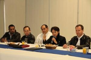 Rubí Laura López Silva se reunió con representantes del CCE