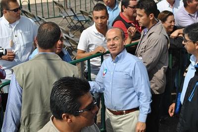 Calderón Hinojosa señaló que esta carretera ahora es moderna y segura