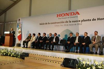 El evento protocolario estuvo encabezado por Felipe Calderón Hinojosa