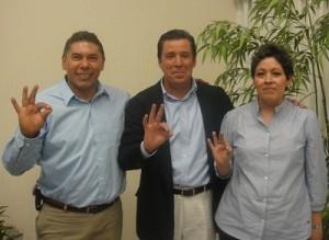Miguel Márquez acompaña a Rito Vargas a su registro como candidato a Alcalde
