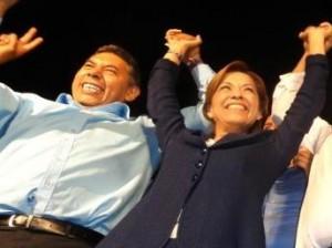 Rito Vargas invitó a la candidata a la presidencia de la república a realizar juntos campaña en Salvatierra