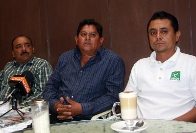 El Partido Verde Ecologista de México decidió que encabece su proyecto a la alcaldía de Villagrán Rubén Villafuerte