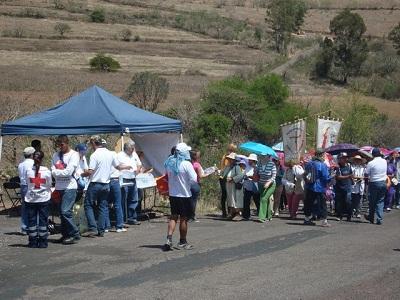 12 mil personas caminaron por más de 22 kilómetros