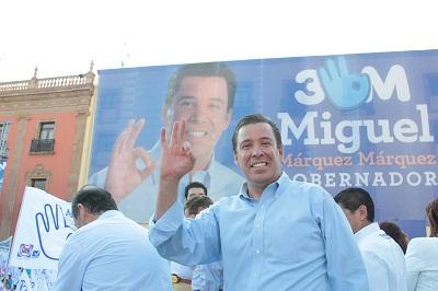 Consolidar a Guanajuato como ejemplo a nivel nacional, con un sistema educativo como factor fundamental y palanca para el desarrollo, es la propuesta que hizo Miguel Márquez Márquez