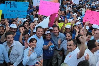 En Salamanca muestran  apoyo a Miguel Márquez