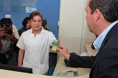 Se realiza antidoping Miguel Márquez?