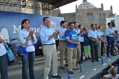 Miguel Márquez apoya a Raúl Gómez para obtener la Diputación Federal