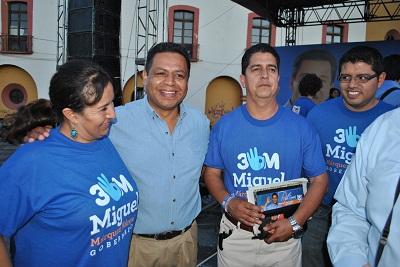 Señaló que hará desde el poder legislativo las gestiones necesarias para atraer más recursos para los municipios del sur
