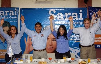 Arrancan campaña en Celaya candidatos del PAN