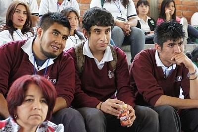 el Mtro. Juan Miguel Ramírez Sánchez, rector del campus advirtió que la educación es la base para un futuro mejor.