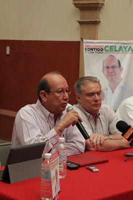 El candidato del PRI y PVEM, comentó que algunos de sus adversarios mienten a los celayenses al decir que traen nuevas soluciones cuando detrás de ellos están las mismas personas