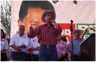 El candidato a la Presidencia de Salvatierra por el PRI, el Dr. Pepe Velazquez