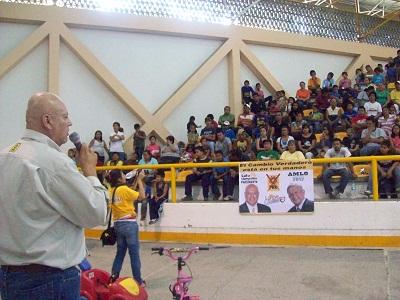 Con festejo para niños arranca campaña PRD en Celaya