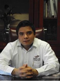 El ex oficial mayor de la presidencia municipal y hoy candidato del PRI a la alcaldía, Jesús Eduardo Alanís Mosqueda