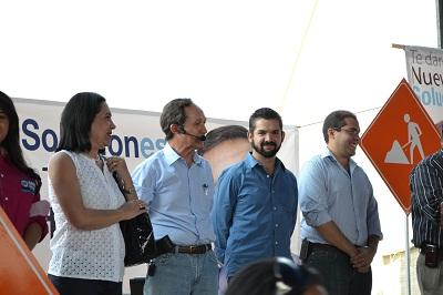 En terrenos de HONDA inicia campaña candidato del PAN, Ismael Pérez Ordaz