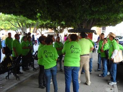 Inició campaña Pascual Zárate Ávila, Candidato del PVEM a la presidencia municipal de Salvatierra