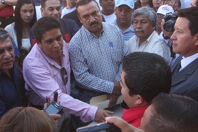 Alanís Mosqueda acusó al alcalde García Carmona de que mete las manos en el proceso electoral