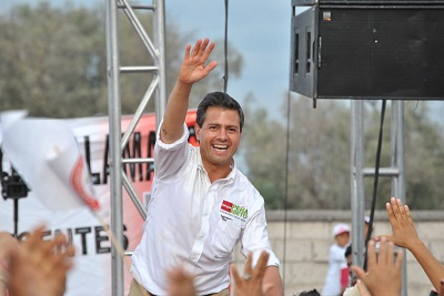 """La CNC de Guanajuato mostro """"musculo"""", al llevar más de 10 mil personas a un evento masivo en la ciudad de Celaya en apoyo a Enrique Peña Nieto"""