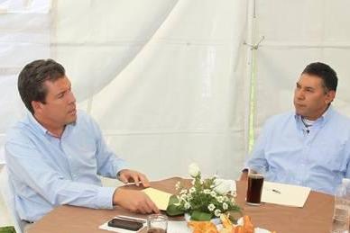 Rito Vargas se reúne con Miguel Márquez