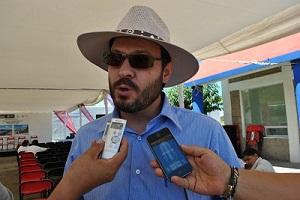 Roberto Castañeda Tejeda, Director Local de Conagua en la Entidad,