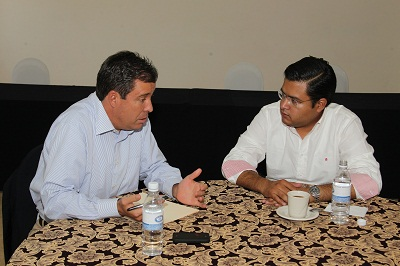 Miguel Márquez Márquez sostuvo un encuentro con Sixto Zetina, Presidente Municipal electo de Irapuato
