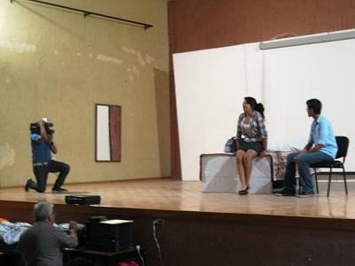 Los jóvenes multiplicadores de Acámbaro, lograron el primer lugar en el concurso de obras de teatro
