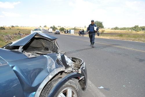 Un lesionado de gravedad en aparatoso accidente
