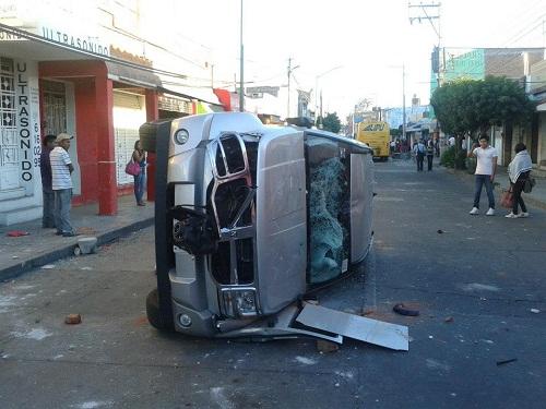 OPERATIVO DEL SAT  DESATA VIOLENCIA Y BANDALISMO
