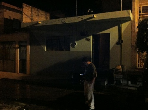Flamazo en una vivienda de Salvatierra
