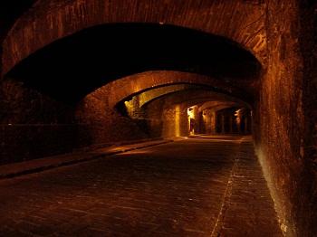 Se decía que el túnel más grande era el que comunicaba el Templo del Carmen con la ex hacienda de San José del Carmen