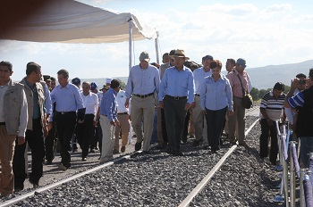 El proyecto consta de un total de 80 kilómetros de vías divididas