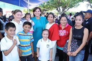 Se comprometió el DIF Estatal a fortalecer el trabajo de los municipios en materia de desarrollo social.