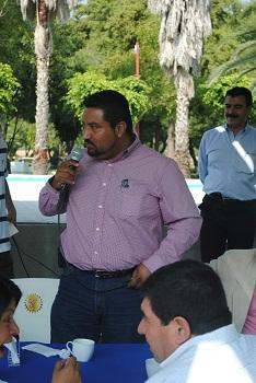 Alcalde de Tarimoro  Ing. Marco Antonio Retiz López