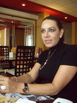 la actual presidenta del CDM, Concepción Montiel Rodríguez