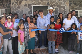 Se inauguró el comedor comunitario, que actualmente atiende a 132 niños, así como adultos mayores, personas con capacidades diferentes y mujeres embarazadas