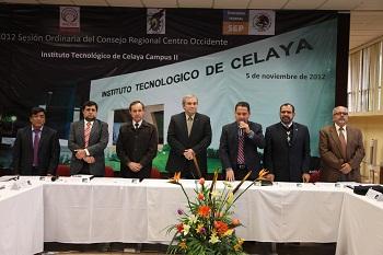 SESIONA LA REGIÓN CENTRO OCCIDENTE DE LA ANUIES EN CELAYA.