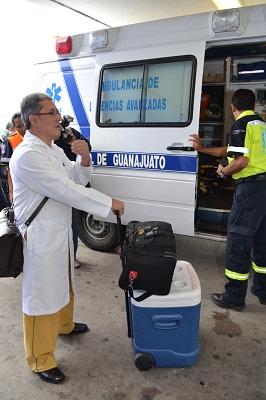 Guanajuato fortalece la Red de Trasplantes para contar con un programa de trasplante de corazón e hígado.