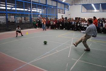 RITO INAUGURA LA OLIMPIADA MUNICIPAL