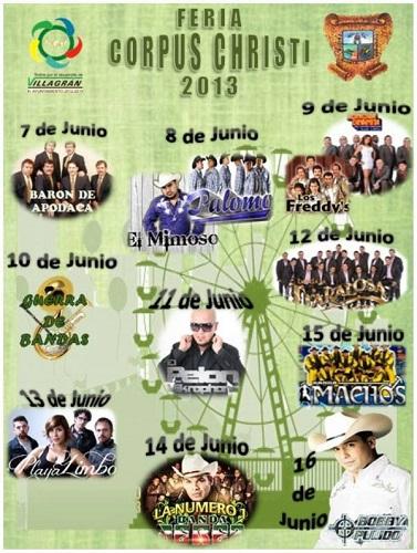 Feria de Corpus Christi 2013