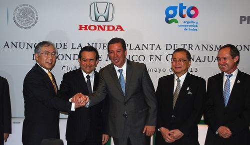 Establecemos una base de producción con competitividad global, de modo que Honda de México, tendrá una eficiente estructura de producción: Tetsuo Iwamura Vicepresidente Ejecutivo de Honda Motors.