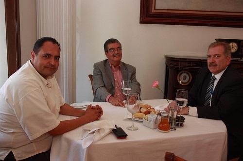 Se reunieron en la ciudad de León los dos alcaldes con el secretario de gobernación.