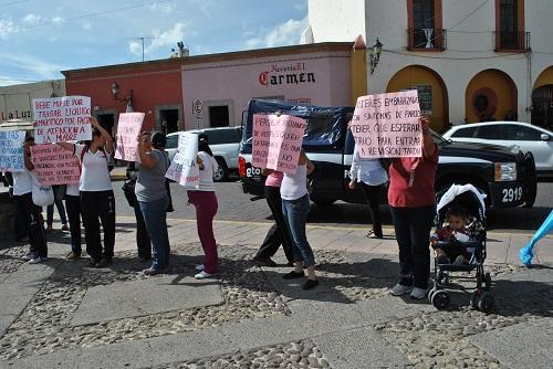 Muere infante tras mal servicio médico en HG de Salvatierra