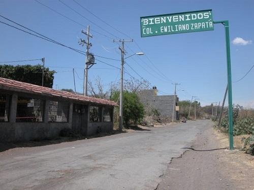 Amantes de lo ajeno entraron a robar a una casa de la colonia Emiliano Zapata.
