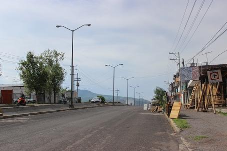 En el bulevar Ponciano Vega derrapó el moroleonés.