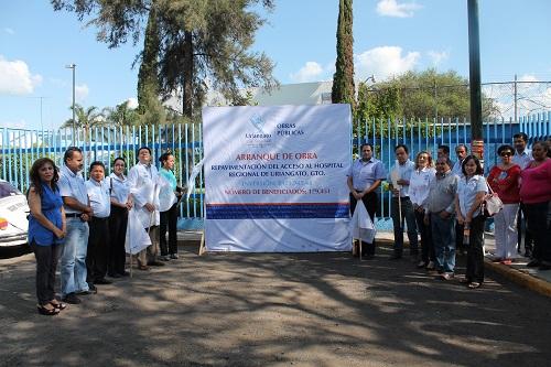 El hospital atiende a personas de Moroleón, Uriangato, Yuriria y algunos municipios de Michoacán.