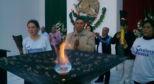RITO CELEBRA LA INDEPENDENCIA EN SALVATIERRA