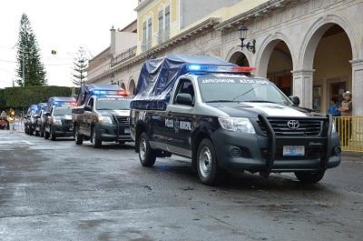 Seis patrullas se incorporaron a los patrullajes.